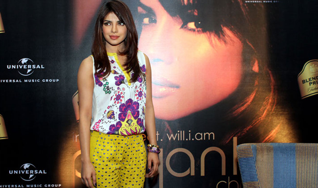Priyanka Chopra in Nida Mahmood