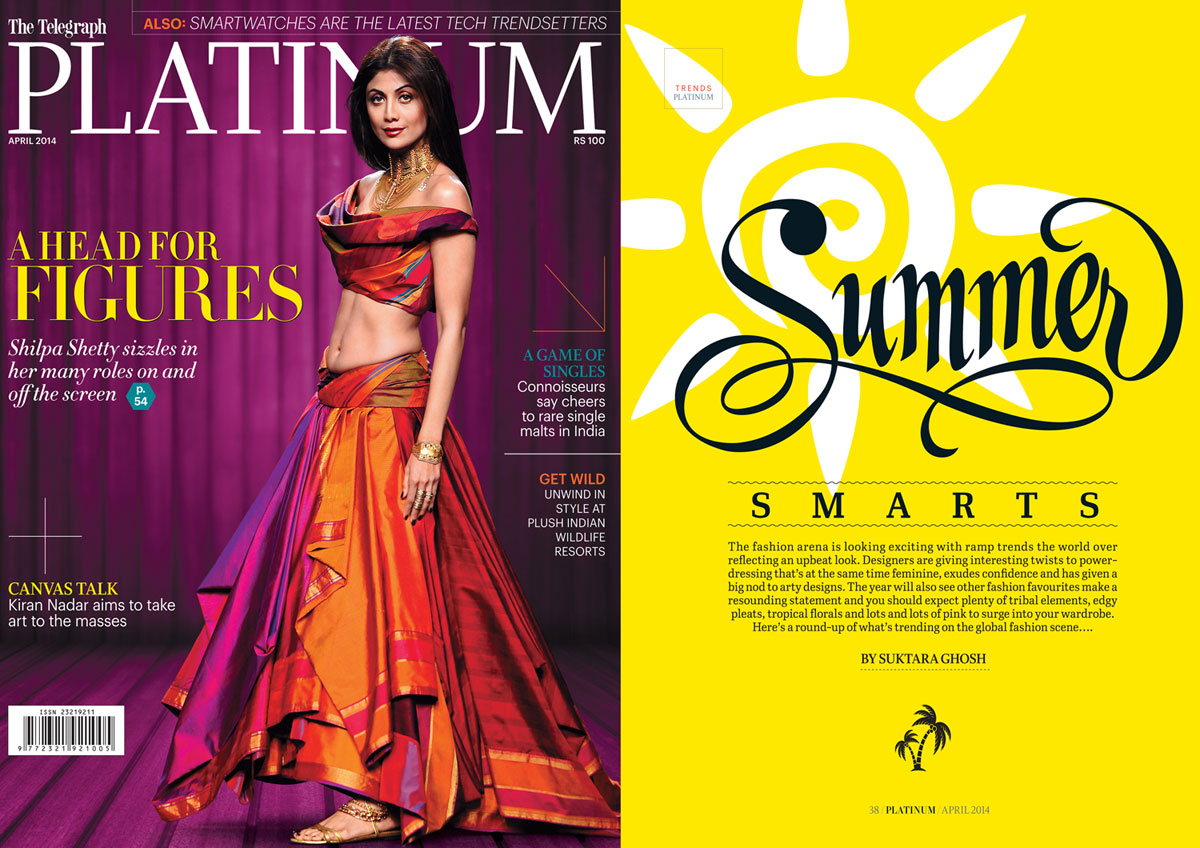Nida-Mahmood-featured-in-The-Telegraph-Platinum-Magazine-april-2014-for-basanti-foxtrot