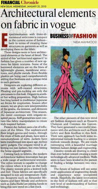 indian-fashion-designer-nida-mahmood-featured-in-financial-chronicle-20-january-2010