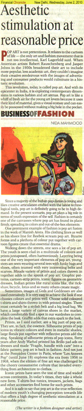 indian-fashion-designer-nida-mahmood-featured-in-financial-chronicle-2-june-2010