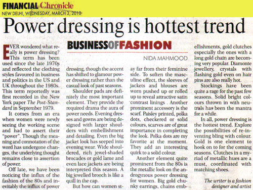 indian-fashion-designer-nida-mahmood-featured-in-financial-chronicle-3-march-2010