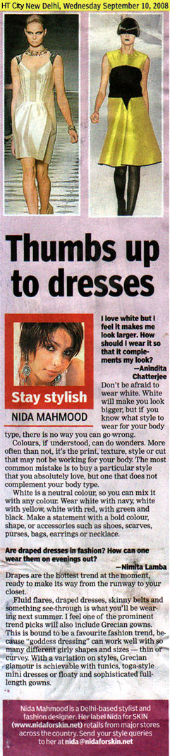 indian-fashion-designer-nida-mahmood-featured-in-HT-City-10-september-2008