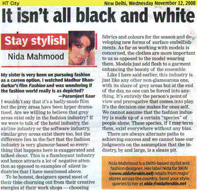 indian-fashion-designer-nida-mahmood-featured-in-HT-City-12-november-2008