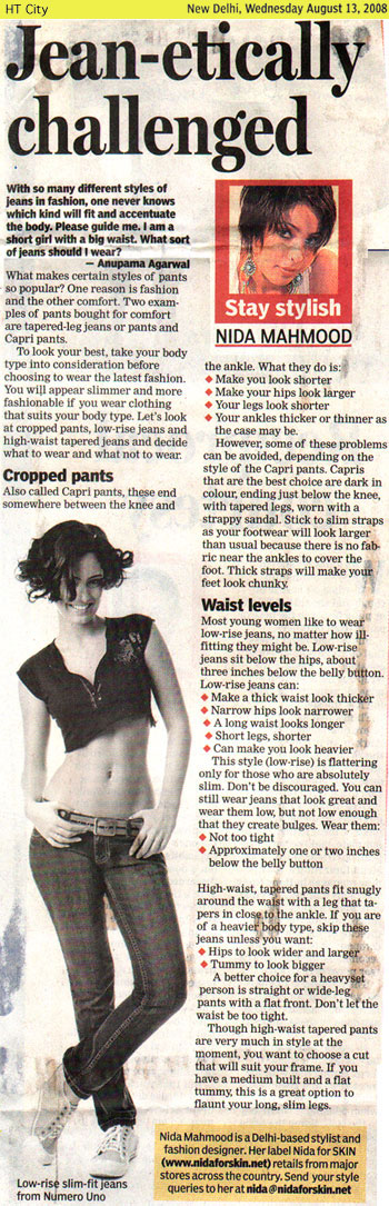 indian-fashion-designer-nida-mahmood-featured-in-HT-City-13-august-2008