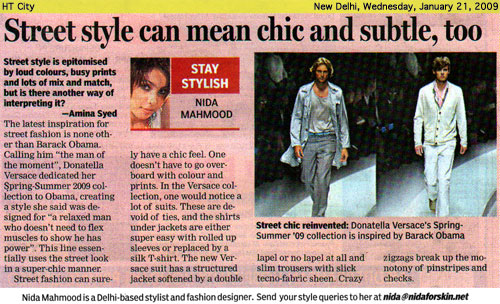 indian-fashion-designer-nida-mahmood-featured-in-HT-City-21-january-2009