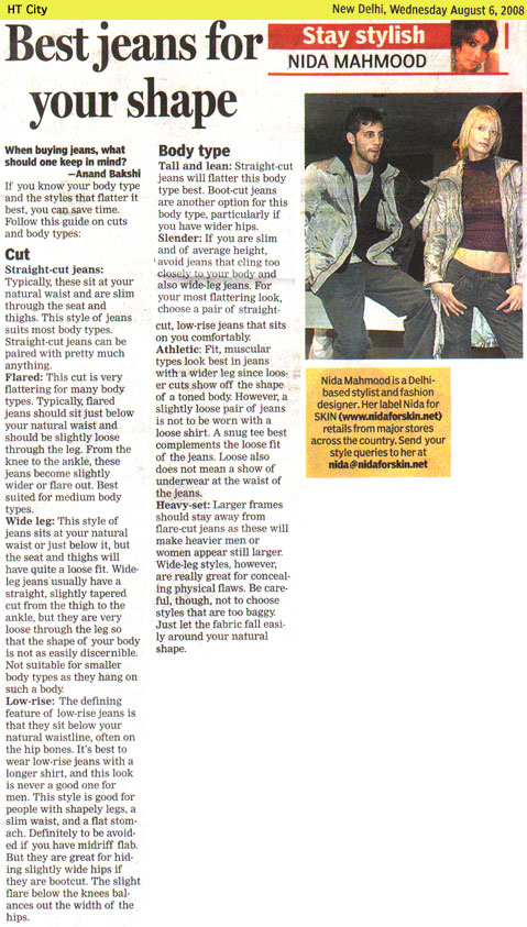 indian-fashion-designer-nida-mahmood-featured-in-HT-City-6-august-2008