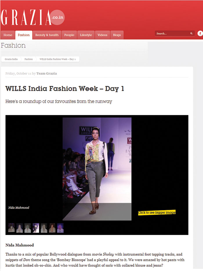 indian-fashion-designer-nida-mahmood-featured-in-grazia-news-blog-for-bombay-bioscope