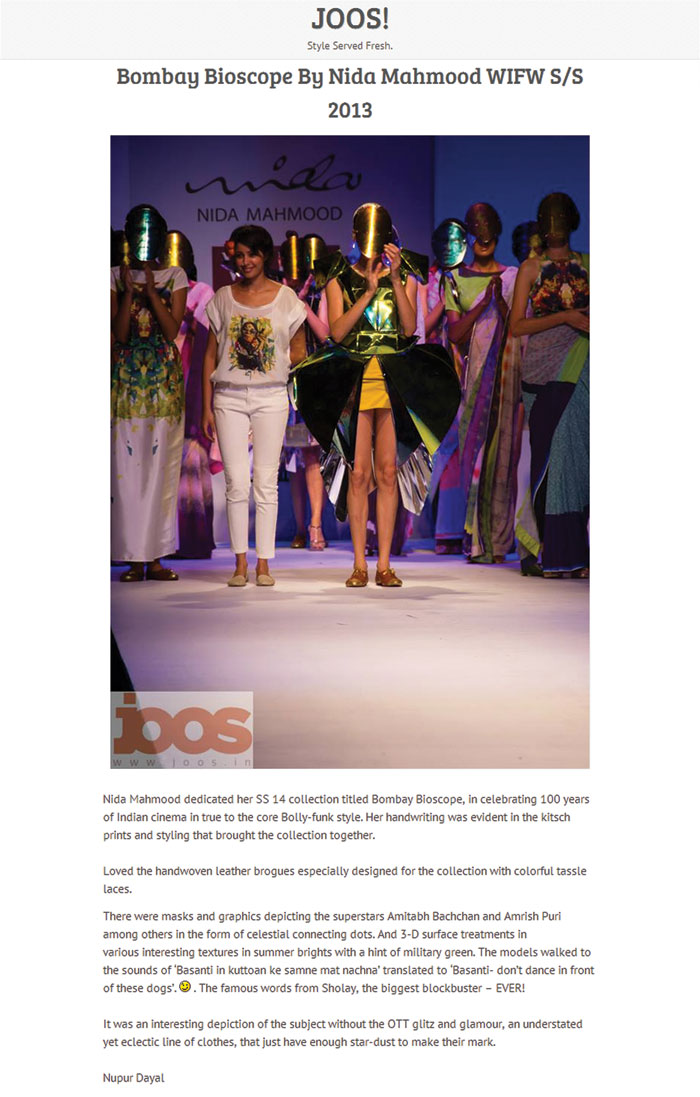 indian-fashion-designer-nida-mahmood-featured-in-joos-style-served-fresh-blog-for-bombay-bioscope