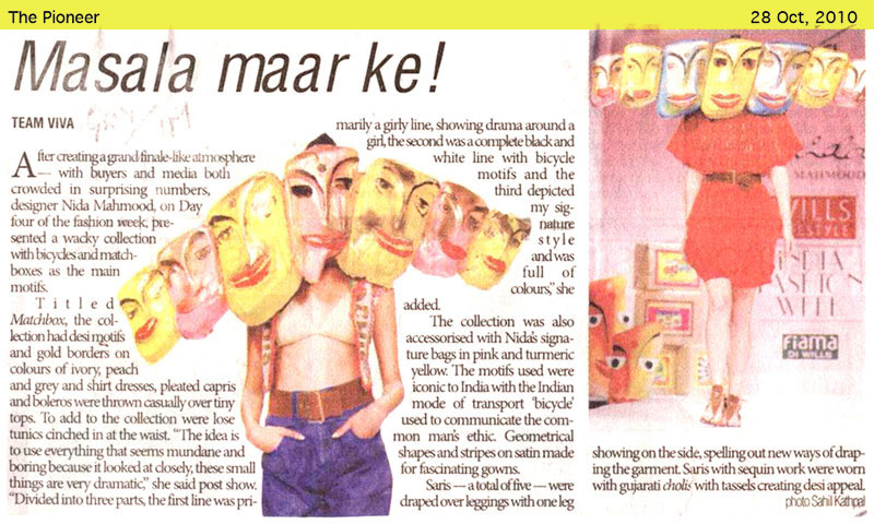 indian-fashion-designer-nida-mahmood-featured-in-the-pioneer-2010