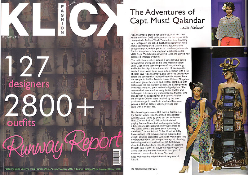 indian-fashion-designer-nida-mahmood-featured-in-klick-fashion-magazine-for-the-adventures-of-capt-must-qalandar